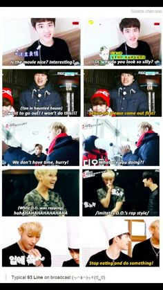 Tao and Kyungsoo. Such a funny and adorable friendship ^.^
