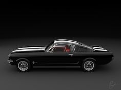 A black beauty: the Ford Mustang Fastback '65