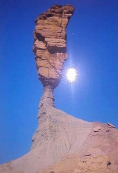 The finger of God, Namibia... No longer exists, and nobody saw it fall. Tragedy.