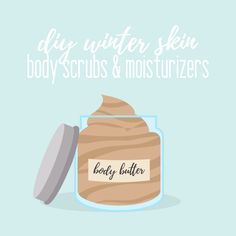 Keep your skin feeling great this winter with these DIY body scrubs and moisturizers! #winter #diy