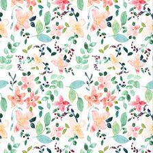 Garden Floral Repeat Print