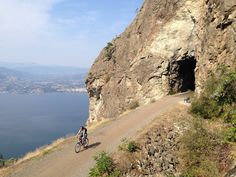 We go to the Okanagan in British Columbia every summer and we spend our time biking on the Kettle Valley Railway trails (KVR) from Kelowna to Penticton. Things To Do In Kelowna, Bike Trails, Biking, Western Canada, Canadian Rockies, Family Adventure, Canada Travel, British Columbia, Places To See