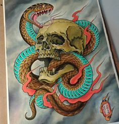 Japanese Tattoo Art, Japanese Art, Tradional Tattoo, Tattoo Italia, Tattoo Apprenticeship, Classic Tattoo, Painting Tattoo, New Print, Tatting