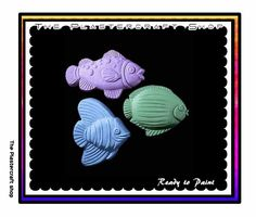 Magnets U Paint DIY Plaster PlasterCraft Kids Crafts Small Fish Ready To Paint Plaster Cute Fish DIY Chalkware