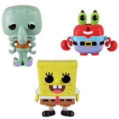 POP Spongebob Set 2