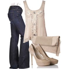 Light Pink, created by styleofe on Polyvore