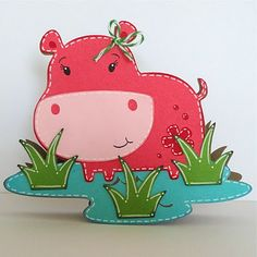 Lauren's Creative...: Hip Hippo Hooray! @ Carrie green