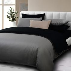 dark grey comforter sets 4pcs bedding set queen size 100cotton twill gray black