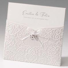 Einladungskarte - Anna - sweetwedding - Hochzeitskarten, Druck, Hochzeitsdekoration, Hochzeitsalben, Gastgeschenke, Einladungskarten, Hochzeit, Dekoration, Gästebücher, Berlin, Stammbücher, Tischdekoration, Karten, Papiere