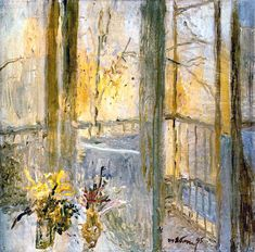 Window - Tatiana Yablonskaya c. 1995, Ukrainian 1917 - 2005