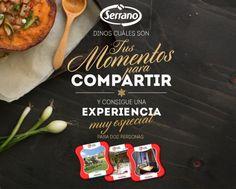 Gana una Experiencia muy especial con Serrano. Momentos para compartir. http://www.pasateaserrano.com