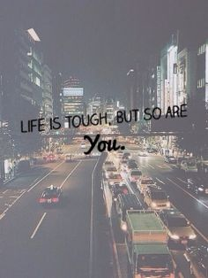Life is tough, but so are YOU. #motivation #staystrong