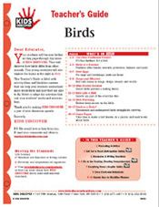 Free Download! 12-page printable Lesson Plan for Kids Discover Birds