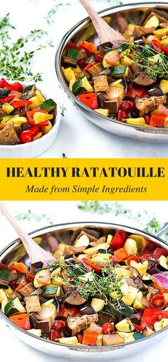 Ratatouille Recipe Inspired by my Unforgettable Trip to France ! Simple ingredients, low carb and delicious.