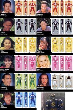 20 years of power rangers! Power Rangers Timeline, Power Rangers Memes, Power Rangers Fan Art, Power Rangers Movie, Power Rangers Dino, Mighty Morphin Power Rangers, Disney Princess Halloween Costumes, Adele, Disney Pin Up