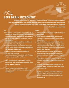 horse left brained introvert - Google Search