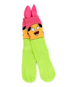 Another great find on #zulily! Bob's Burgers Louise Face Socks - Adult by Bob's Burgers #zulilyfinds