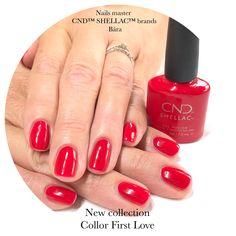 Shellac Nails, Red Nails, Nail Polish, Red Nail, Red Toenails, Nail Polishes, Polish, Manicure, Shellac