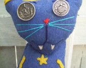Cyclops Cat. $43.00 USD, via Etsy.