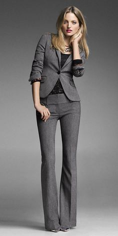 Chic Professional Woman Work Outfit. Shop Men's and Women's clothing