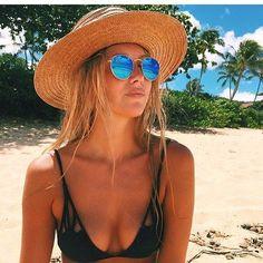 blue mirror sunglasses #raybans