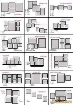 Как разместить фотографии в интерьере + Фото » Дизайн & Декор своими руками