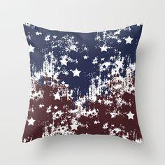 Americana Throw Pillow  - $20.00