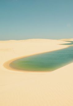 1000 places to go before i die: Lençóis Maranhenses National Park, Brazil 倫索伊斯Maranhenses國家公園,巴西
