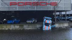 Gulf Porsche 911 GT3 RS Ends Up In Actual Gulf