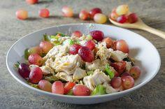 Μια σαλάτα με σταφύλι και κοτόπουλο θα είναι το βραδινό σου γεύμα - http://ipop.gr/sintages/salates/mia-salata-me-stafili-ke-kotopoulo-tha-ine-to-vradino-sou-gevma/