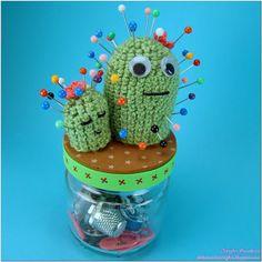El Rincón de Maryjoe: Alfiletero Cactus