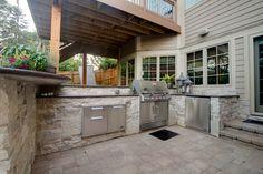 Outdoor Kitchen, backyard entertaining Naperville IL