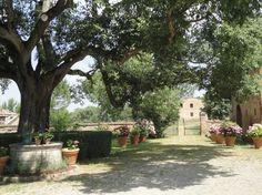 Castle of San Fabiano'garden corner