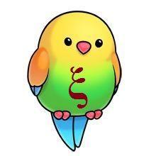 Ideas cute bird cartoon kawaii for 2019 Cartoon Drawings Of Animals, Cartoon Birds, Cute Cartoon Animals, Cute Animal Drawings, Bird Drawings, Easy Drawings, Cute Animals, Cartoon Bird Drawing, Cute Animal Clipart