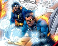 Black Lightning and Static