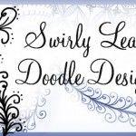 Sweafly - a Swirly Leaf Tangled Design