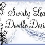 Sweafly - a Swirly Leaf Tangled Design