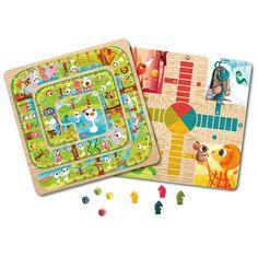 Juego del parchís y la oca   EUREKAKIDS   Los tradicionales juegos del parchís y de la oca ahora con un precioso diseño inspirado en 4 cuentos clásicos que va a encantar a los más pequeños.