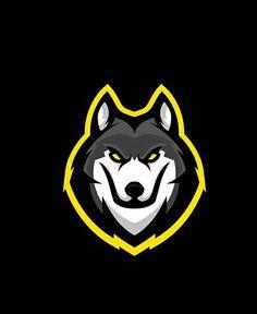 Color Scheme, and Pop color Logo Esport, Art Logo, Lobo Tribal, E Sport, Sport Wear, Youtube Logo, Game Logo Design, Esports Logo, Art Diy