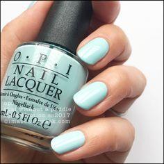 Here are the 10 most popular nail polish colors at OPI - My Nails Opi Blue Nail Polish, Nail Lacquer, Opi Nails, Nail Polish Colors, Blue Nails, Manicure, Opi Colors, Nail Polishes, Spring Nail Colors