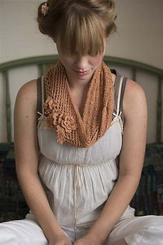 Trellis Scarf pattern by Bethany Hick