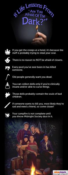 "All I Needed To Know About Life I Learned From ""Are You Afraid Of The Dark"""