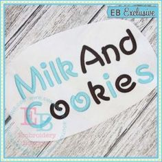 Milk And Cookies Alphabet