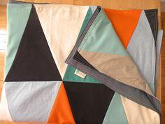 fichu chiffon quilt throw blanket by la cabane atelier Circus series www.lacabaneatelier.com