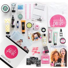 Lots of Posh starter kit only $99 to own your own business and be part of an amazing team. perfectlyposh.com/kellydowns