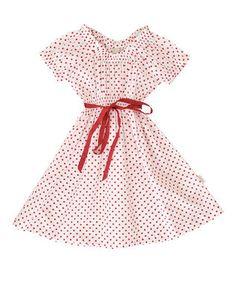 Rodez Red Dot Cap Sleeve Dress $24.99