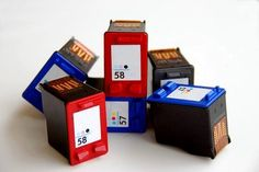 ink cartridges image by itsallgood from Fotolia.com
