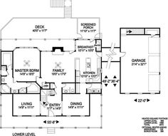 Ranch - Southern Home with 4 Bedrms, 2972 Sq Ft | Plan #109-1093