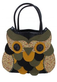 Owl bag by Irregular Choice  Sorry Not Crochet