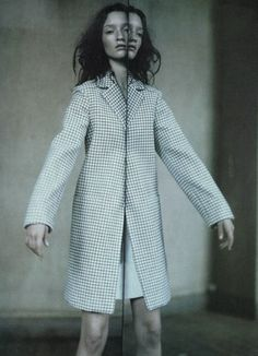 lavandula:  audrey marnay by paolo roversi for vogue italia